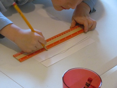 using a ruler